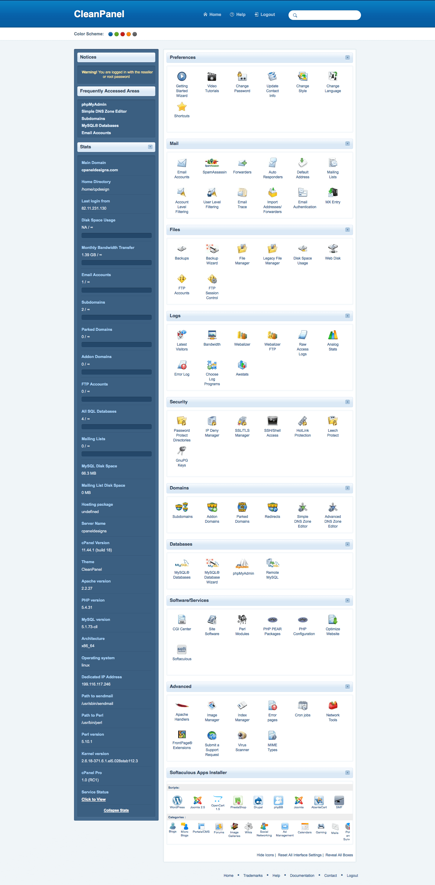 cPanelDesigns - High Quality cPanel Themes, Responsive & Mobile Friendly